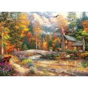 Buffalo Games - Chuck Pinson Escapes - Call of The Wild - 1000 Piece Jigsaw Puzzle