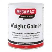 Megamax B.V. WEIGHT GAINER Megamax Erdbeere Pulver 1500 g