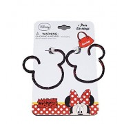 Disney Mickey and Minnie Mouse Baby Girl Dress Up Silhouette Earrings