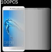 100 PCS Para Huawei Y7 0.3mm 9h La Dureza De La Superficie (no En Pantalla Completa A Prueba De Explosion Tempered Glass Screen Film