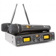Power Dynamics PD 781 Wireless 2 x 8 Channel UHF Microphone System