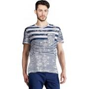 Edward Jeans Tricou Stripes T-Shirt 16.1.1.01.016 M