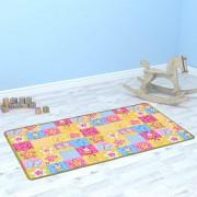 vidaXL Play Mat Loop Pile 67x120 cm Butterfly Pattern