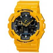Ceas barbatesc Casio G-Shock GA-100A-9A Bold Face. Tough Body