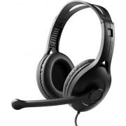 Casti cu microfon EDIFIER K800 Stereo, control volum pe fir, Black