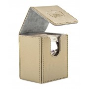 ULTIMATE GUARD Flip Deck Case 100+ Standard Size Xenoskin Sand