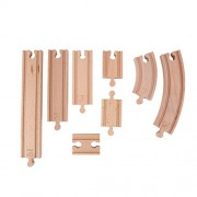 Hape Wooden Railway Super Expansion Rail Pack