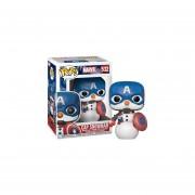 Cap Snowman Funko Pop Marvel