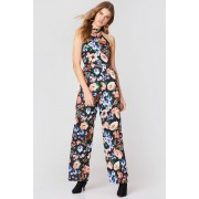 Trendyol Floral Jumpsuit - Multicolor