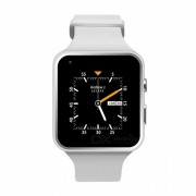 """X6 PLUS 1.54"""" 3G Android reloj inteligente - Blanco"""