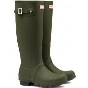 Hunter Original Tall regenlaarzen dames Kleur: groen, Schoenmaat: 42 groen