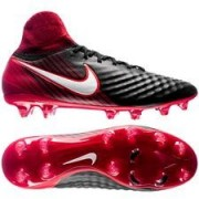 Nike Magista Orden II DF FG Fire - Zwart/Wit/Rood