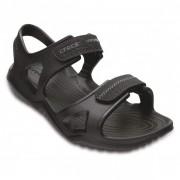 Crocs - Swiftwater River Sandal - Sandales de marche taille M12, noir