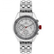 Gio Collection Analog White Dial Mens Watch - G1001-11