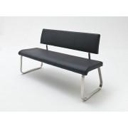 MCA Furniture Sitzbank Arco Echt Leder weiss 155 cm breit