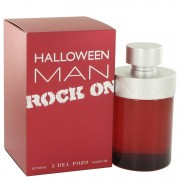 Jesus Del Pozo Halloween Man Rock On Eau De Toilette Spray 4.2 oz / 124.2 mL Men's Fragrance 515362