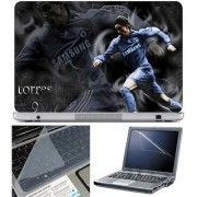 Finearts Laptop Skin Torres Samsung With Screen Guard And Key Protector - Size 15.6 Inch