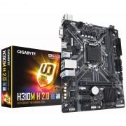 MB, GIGABYTE H310M-H 2.0 /Intel H310/ DDR4/ LGA1151