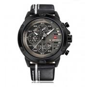 NAVIFORCE Męski zegarek NAVIFORCE 9110 black&grey