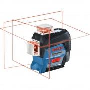 Nivela laser cu linii Bosch compatibila cu acumulator 12 V Li-Ion in L-BOXX GLL 3-80 C