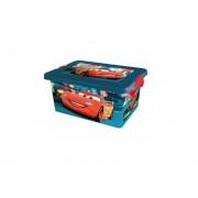 Caja Para Juguetes Disney Cars - Azul