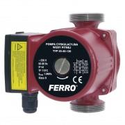 Pompa circulatie apa potabila 25-40/130 0203W FERRO