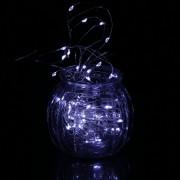 EH 6m 60 LED Cadena Luz Decoración Del Partido Caja De La Batería 3AA Con Control Remoto