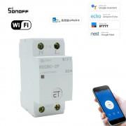 WiFi inteligentný spínač 2P 32A Din Rail eWeLink APP