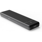 FEELTEK M.2 NVME SSD ENCLOSURE WITH USB TYPE & USB TYPE A CABLES