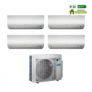 Daikin Condizionatore Quadri Split Con Inverter 7000+9000+9000+9000 Btu A+++ R32 Ftx M 4mxm68m