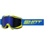 Shot Iris Jet Motocross Goggles Blue Yellow One Size