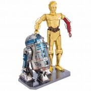 Metal Earth Star Wars 3D Model Kit R2D2 & C-3PO 570276