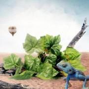 ELECTROPRIME® 2m/79'' Reptile Vivarium Realistic Grapes Ivy Vines Silk Plant Vine Decor