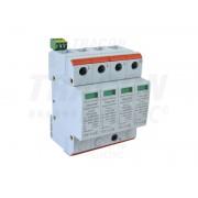 Descarcator de supratensiuni,AC,cl.2,elem.modular inlocuibil TTV2-40-3P+N/PE 230/400 V, 50 Hz, 20/40 kA (8/20 us), 3P+N/PE