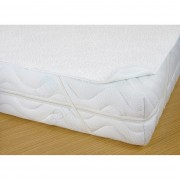 Protecție saltea cu PVC, impermeabilă, 200 x 200 cm, 200 x 200 cm