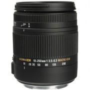 Sigma 18-250mm f/3.5-6.3 DC MACRO OS HSM para Nikon