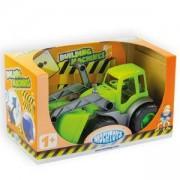 Детски булдозер с гумени колела в кутия, 10176 Mochtoys, 5907442101768
