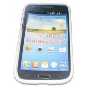 Силиконов гръб ТПУ за Samsung I8260 Galaxy Core Бял