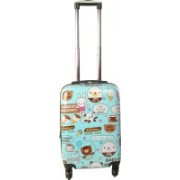 Sprint Spinner 4 Wheel Baby Trolley Case Check-in Luggage - 24 inch(Blue)