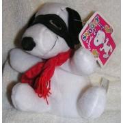 "Peanuts Plush 6"" Snoopy Flying Ace Bean Bag Doll"