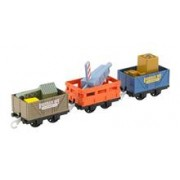 Set Thomas and Friends TrackMaster Dockside Delivery Crane Cargo and Cars