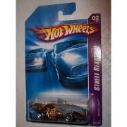 Street Beast 2 Series #2 Sharkruiser Razor Rear Wheel #2007-66 Collectible Collector Car Mattel Hot Wheels
