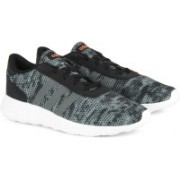 ADIDAS LITE RACER Running Shoes For Men(Black, Grey)
