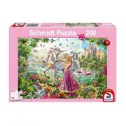 Puzzle Zana in padurea fermecata, 200 piese