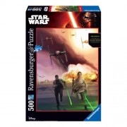 Ravensburger Starwars Star Wars de duistere kant van de Force legpuzzel 500 stukjes