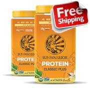 SunWarrior 2x SunWarrior - Vanille Proteine Poeder Classic Plus 2x 750 gram SunWarrior - 1KG