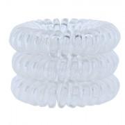 Invisibobble Power Hair Ring elastico per capelli 3 ks tonalità Crystal Clear donna