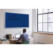 Blue Felt Noticeboard 1200x1200mm