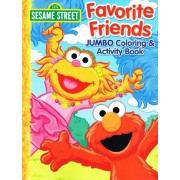 "Sesame Street Coloring and Activity Books (2 Pack) Set - ""Day of Play"" and ""Favorite Friends"""
