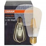 LED filament lamp 470 lumen E27 2700K 4W